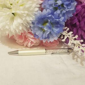 Swarovski Pen classic white